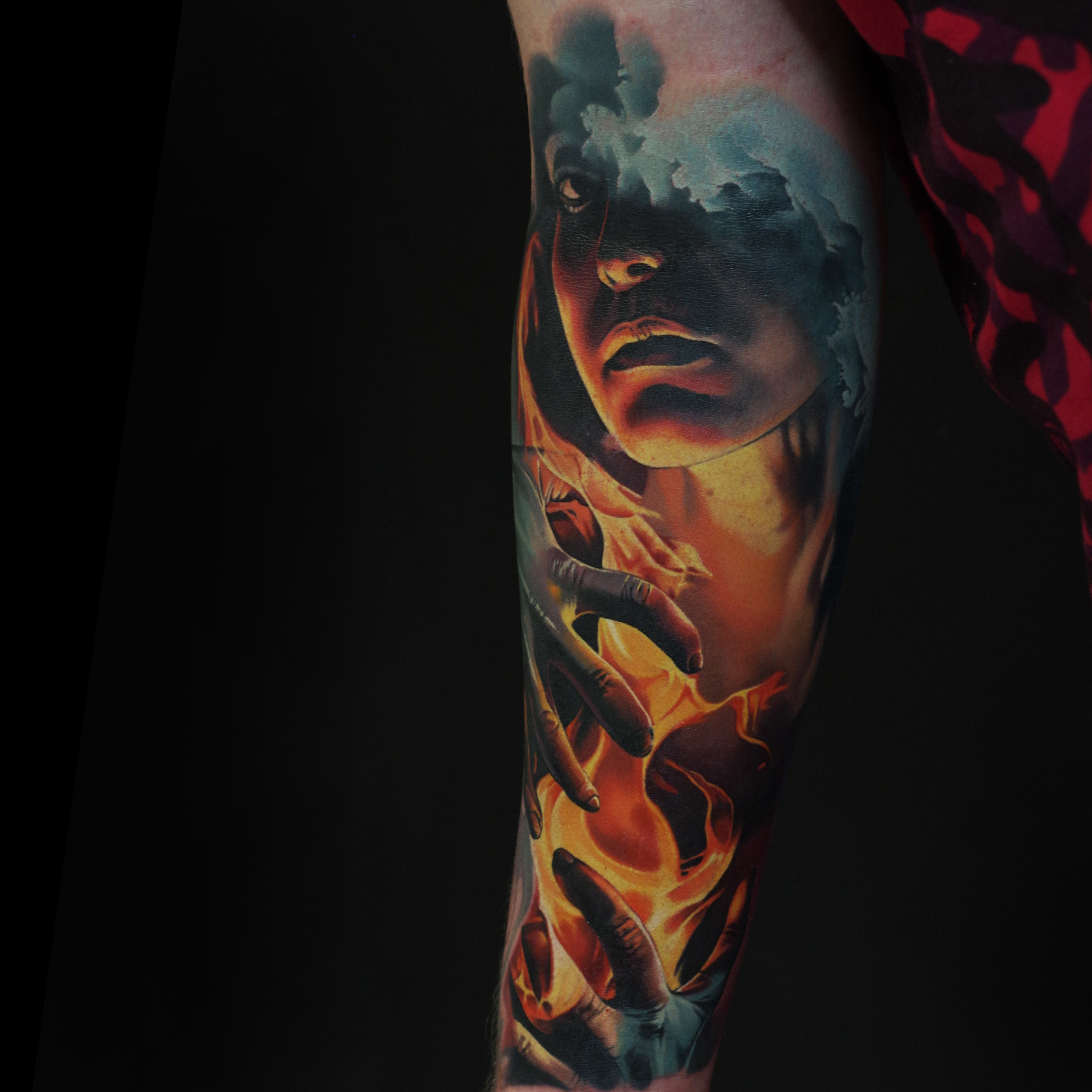 22a118f65 I have always wondered how, especially in terms of realism work, there's a  noticeable pattern: tattoo artists from Eastern Europe – Ukraine, Belarus,  ...