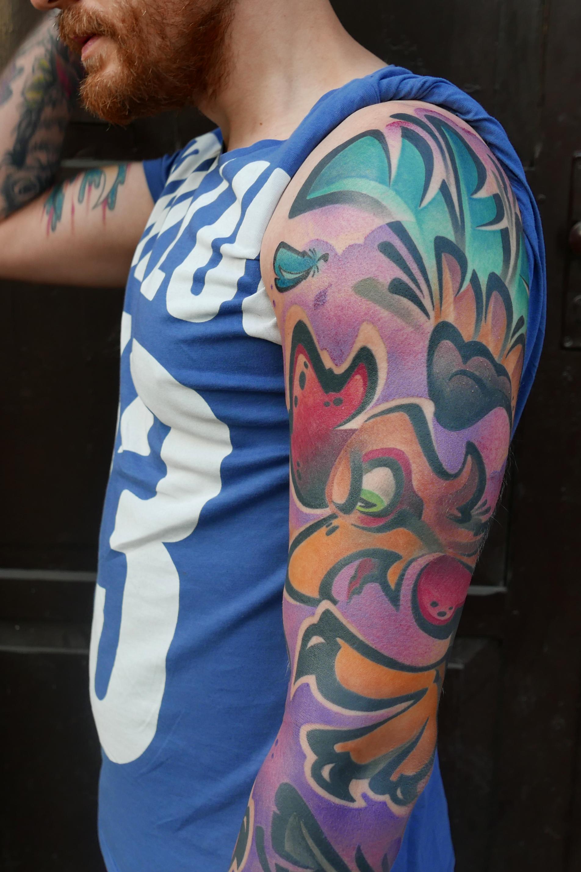 Monkey Hide Tattoo – Warsaw | Tattoo Fan Magazine UK
